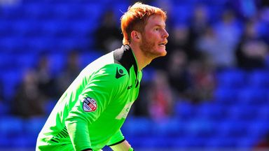 Adam Bogdan: Has agreed to leave Bolton for Liverpool on July 1