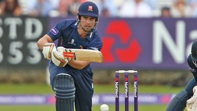 Alastair Cook in action for Essex Eagles in May 2014