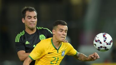 Philippe Coutinho's absence will be a worry for Liverpool and Brazil fans