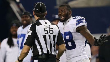 Dez Bryant: Yet to agree a long-term deal
