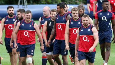 The England team are being put through their paces in Baghot before heading out to Denver on July 10