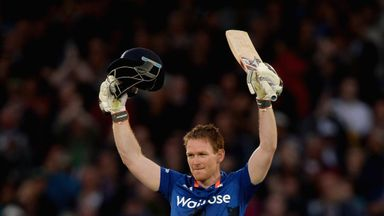 Eoin Morgan: England captain scored 113 in the fourth one-day international
