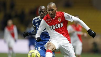 Fabinho: Monaco defender has been linked with Man City and Man Utd