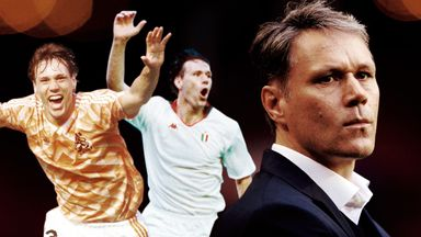 Marco van Basten played at the top level but is now taking a back seat as a coach