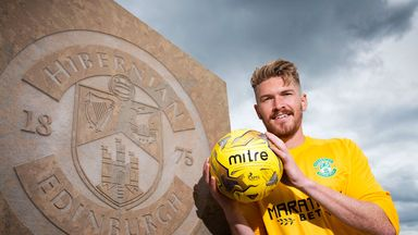 Mark Oxley has signed a permanent deal with Hibernian after spending last season on loan to them from Hull City