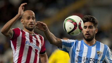 Samuel Garcia (R): Has left Malaga for Villarreal.