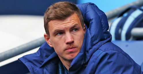 Edin Dzeko: Set to leave Manchester City this summer
