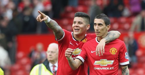 Marcos Rojo: Backing Angel Di Maria to come good for Manchester United