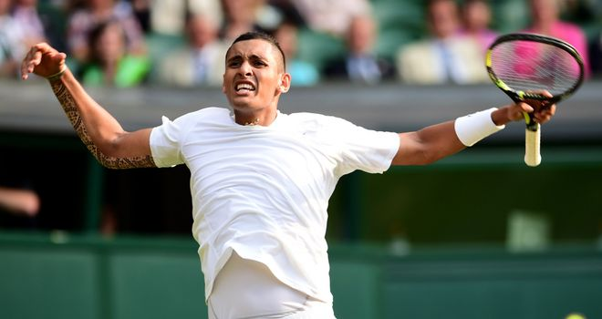 Nick Kyrgios: Stunned Rafael Nadal in the fourth round last year