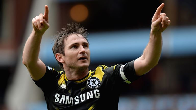 Frank Lampard is Chelsea's all-time record goalscorer