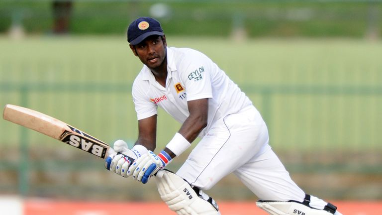 Captain Angelo Mathews adds experience to a young Sri Lanka batting line-up