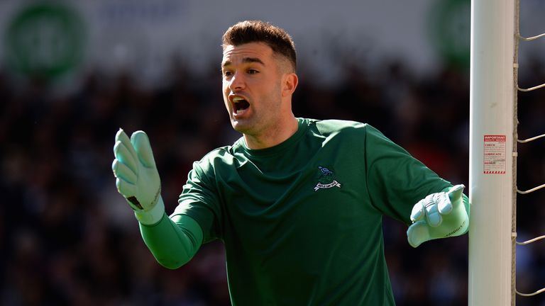 Boaz Myhill has impressed in goal for West Brom in Foster's absence