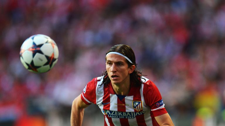 Filipe Luis has quickly settled back in at Atletico Madrid