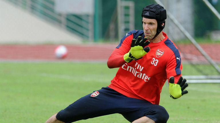 Petr Cech has joined Arsenal from Chelsea.