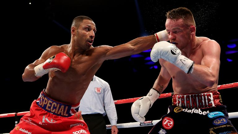 Frankie Gavin's one world title shot came against Kell Brook