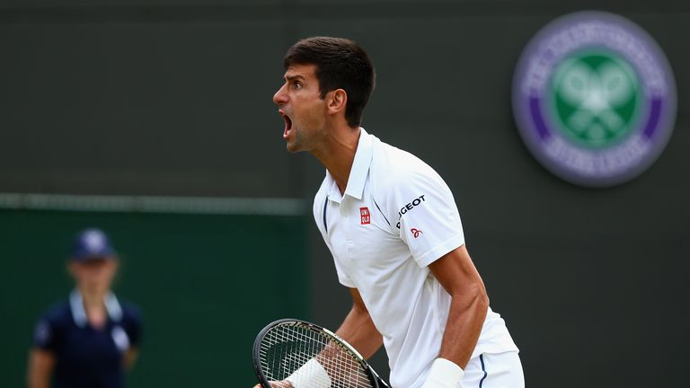 Novak Djokovic  will play at Wimbledon for the third day in a row when he plays Marin Cilic on Wednesday