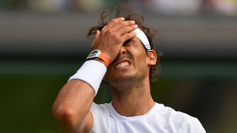 Rafael Nadal: Upset by Germany's Dustin Brown