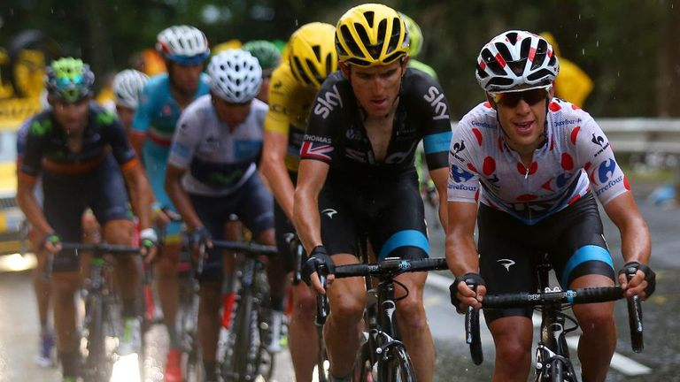 Tour de france chris froome says he owes his team mates a for Richie porte tour de france