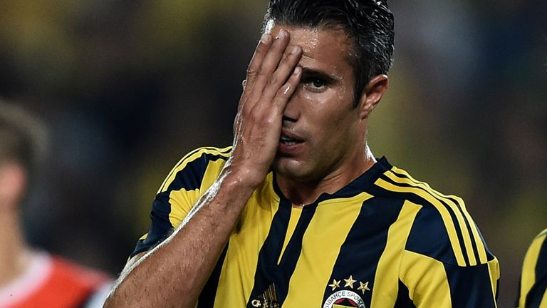 Robin Van Persie is understood to be unhappy at Fenerbahce