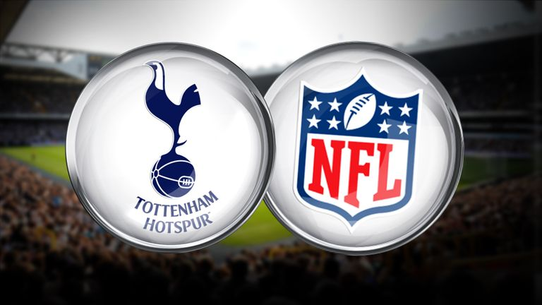 Tottenham will host two NFL games a year as part of a 10-year partnership