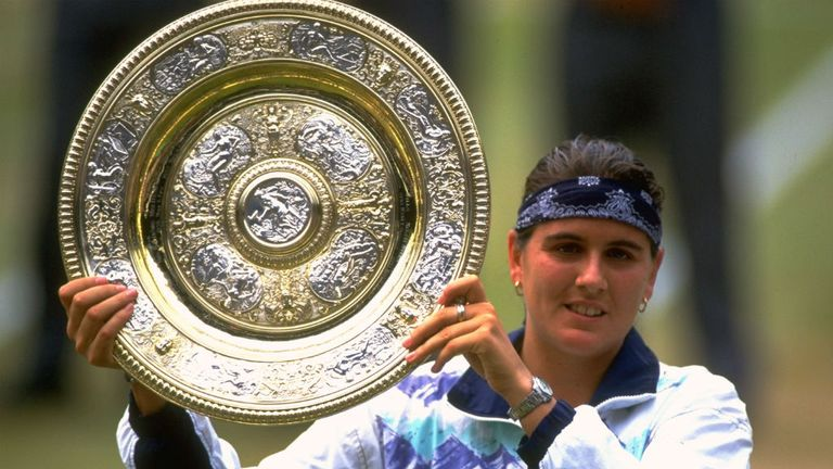 Martinez became the first Spanish winner of the ladies' singles at Wimbledon in 1994