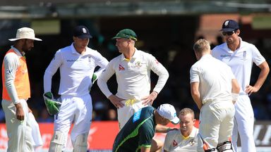 Chris Rogers requires treatment on the Lord
