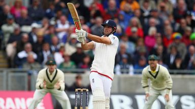 Alastair Cook of England bats during day one of the 3rd Investec Ashes Test match between England and Australia at Edgbast