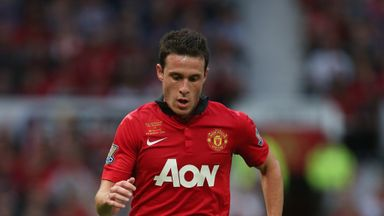 Angelo Henriquez in action during Rio Ferdinand
