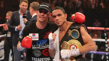 Anthony Crolla and Darleys Perez ready to go again