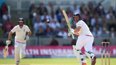 Ian Bell clips a delivery to the boundary in third Ashes Test