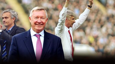 Sir Alex Ferguson topped our study ahead of Arsene Wenger and Jose Mourinho