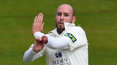 Chris Rushworth was a star performer with the ball for Durham this season