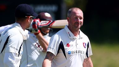 Darren Stevens was among the wickets as Kent made Lancashire follow on