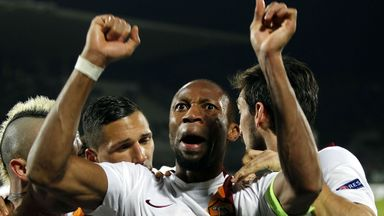 Seydou Keita: The midfielder will stay on at Roma