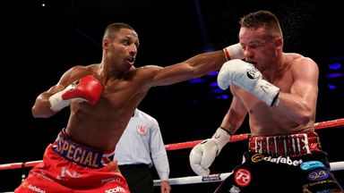 Kell Brook (left) is due to defend his IBF title in October