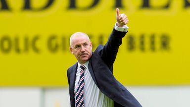 Rangers manager Mark Warburton says handling transfer negotiations is not his job at Ibrox.