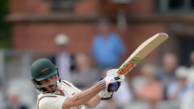 Ned Eckersley: In good form for Leicestershire