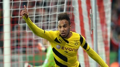 Pierre-Emerick Aubameyang insists he is happy to stay in Dortmund