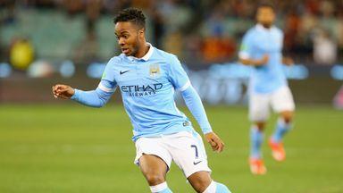 Raheem Sterling: Scored twice as City brushed Vietnam aside