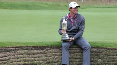 Rory McIlroy: Defending champion has not given up hope of playing in next week's Open