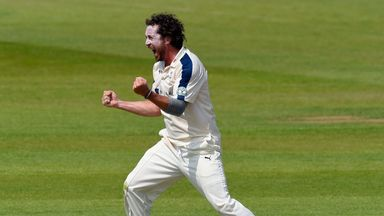 Ryan Sidebottom: Finished with figures of 6-34 for Yorkshire