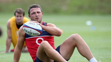 Sam Burgess: Desperate to win place in World Cup squad