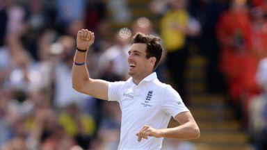 Steven Finn took eight wickets at Edgbaston