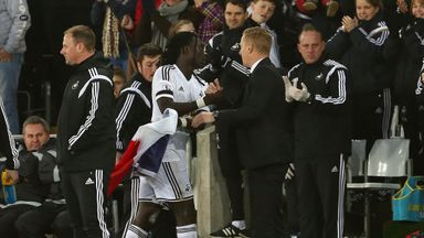 Garry Monk is looking forward to working with Bafetimbi Gomis again