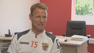 Teddy Sheringham: Spoke exclusively to Sky Sports News HQ on his first few days as manager at Stevenage