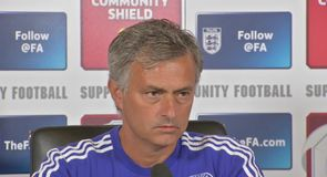 Mourinho happy with strikers