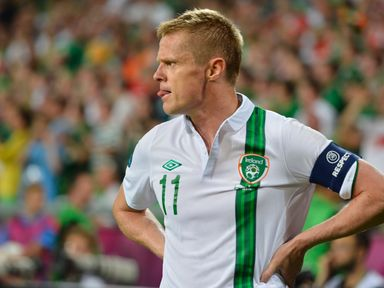 Former Irish midfielder Damien Duff has retired