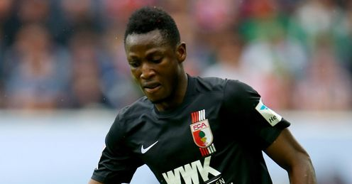 Baba Rahman: Set to join Chelsea from Augsburg