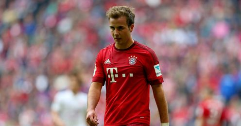 Mario Gotze: Linked with Chelsea switch
