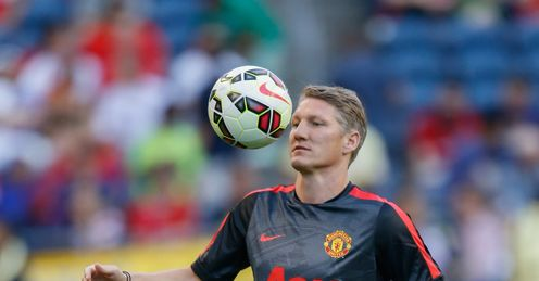Bastian Schweinsteiger: Played just 15 times last season for Bayern